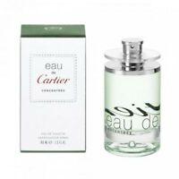 Cartier Eau de Cartier Concentree EDT 100ml Eau De Toilette UNISEX New & Sealed