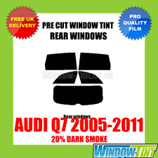 AUDI Q7 2005-2011 20% DARK REAR PRE CUT WINDOW TINT