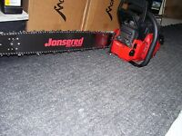 "New Jonsered CS 2166 Chainsaw with 20"" Pro Bar, Full Wrap Handle - FREE SHIPPING"