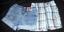 TWO BOYS SHORTS SIZE 24 MONTHS