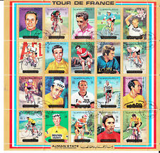 Lot de timbres Fujeira, Tchad, Ajman State, Manama, Ras Al Khaima