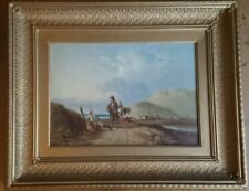 Victorian Oil Painting.