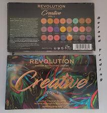 MAKEUP REVOLUTION - CREATIVE VOL 1 Eyeshadow Palette 24 Bright POP Colour NEW