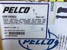 Pelco Em1900U Med. Duty 90° Wall MountW/ Swivel Head. Ext. 15.45� Sup-40lbs