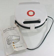 Belgian Waffle Maker Model TSK-245W White