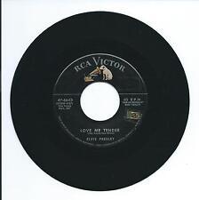 """1956 ELVIS """"LOVE ME TENDER"""" 45 7"""""""