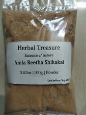 Amla reetha and shikakai Powder natural Hair care remedy