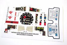 Kenner AT-ST ATST 1982 Vintage Star Wars replacement Sticker set +BONUS R2 stika