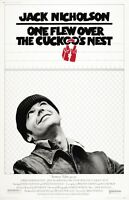 """One Flew Over The Cuckoo's Nest movie poster (a) 11"""" x 17"""" Jack Nicholson poster"""