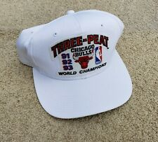 1993 Chicago Bulls NBA Championship THREE-PEAT Hat Brand new w/tags