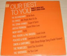 OUR BEST TO YOU 1967 COLUMBIA TBS-2 THE BYRDS ARETHA MOBY GRAPE THE YARDBIRDS