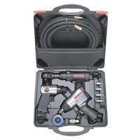 Craftsman 10 Piece Mechanics Air Tool Kit with Impact, Ratchet Air Hammer & Case