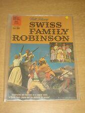 FOUR COLOR #1156 FN- (5.5) DELL COMICS SWISS FAMILY ROBINSON DECEMBER 1960 CVR A