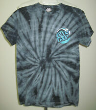 New listing Santa Cruz Skateboard Surf T Shirt Vintage 90s Tie Dye Blue Size Small