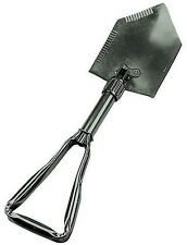 Rothco Deluxe Heavy Duty Steel Tri-Fold Military Camp Shovel - Compact & Light