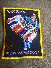 Order of the Arrow Boy Scout OA W3A Section Pow Wow 2001  Dance Patch