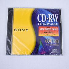 Sony CD-RW 650 MB CD ReWritable CD-RW650HS