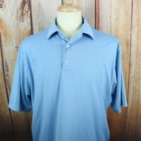 FOOTJOY Men's Large Golf Polo Shirt Short Sleeve Labatt Beer Logo Stretch