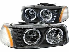 For 1999-2006 GMC Sierra 1500 Headlight Set Anzo 42818YM 2003 2005 2004 2000