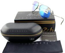 POLARIZED New SERENGETI PANAREA Le Mans 24h Satin Dark Gunmetal Sunglasses 8486