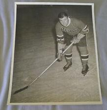 Original Late 1930's IAHL Arthur Art Lesieur Providence Reds Hockey Photo