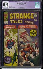 Restored 1965 Marvel Comics Strange Tales Issue #133 Puppet Master cameo CGC 8.5