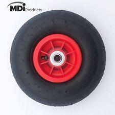 MDI Trolley Wheel - Wheel - Pneumatic 3.00-4 (260x85mm Tyre) Hole 16mm Diameter