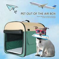 Outdoor Portable Pet Dog Cat Crate Kennel for Travel Training Home L XL Size