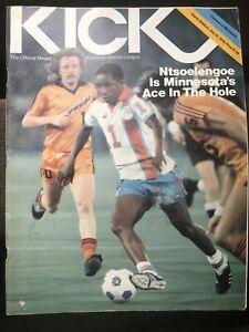 NY COSMOS vs THE MINNESOTA KICKS 1979 PROGRAM KICK NASL NTSOELENGOE COVER