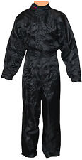 Rain Suit,Wet weather Overall For  Karting,Race,Rally,Autograss  in BLACK