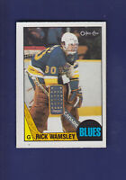 Rick Wamsley 1987-88 O-PEE-CHEE Hockey #65 (NM+)