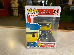 Funko POP! NIB Television The Simpsons CHIEF WIGGUM #899