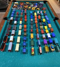 Thomas & Friends / Plus other popular brands / 121 train carts total 🔥 Lot Sale