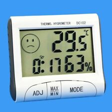 Digital LCD Indoor Thermometer Hygrometer Room Humidity Meter Temperature