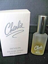 CHARLIE WHITE by Revlon Vintage Cologne Perfume Spray .25 oz with box 1/2 Full