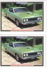 1969 Ford Torino Cobra 428 SCJ baseball card sized cards - Must See !!