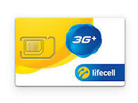 Lifecell SIM Card LTE | Triple Format (Nano + Micro + Regular) 3G 4G LTE Ukraine