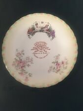 King Edward V11 Queen Alexandra Crowned June 1902 Royal Memorabilia Plate