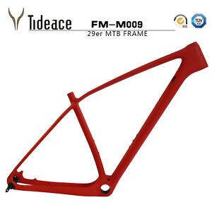 T800 29er OEM Carbon Mountain Bike Frames Full Carbon Fiber MTB Bicycle Frame