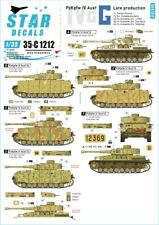 Star Decals 1/35 PANZER IV AUSF.G LATE PRODUCTION GERMAN TANK