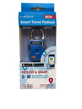 eGeeTouch Smart Travel Lock Luggage Blue GT1000