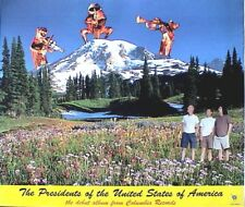 "THE PRESIDENTS OF THE UNITED STATES OF AMERICA ""DEBUT ALBUM"" U.S. PROMO POSTER"