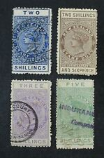 Ckstamps: Gb Stamps Collection New Zealand Scott#Ar1-Ar3 Ar6 Used #Ar2 Tiny Thin