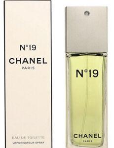 💝 CHANEL No19 Perfume Eau De Toilette 50ml EDT Spray ~ VERY RARE ~ 💖