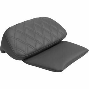 Saddlemen Road Sofa Backrest Chopped Tour Pak Pad Cover 04-2020 Harley Touring