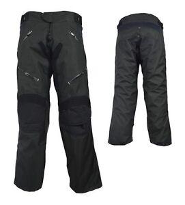 Kids Motorcycle Motocross Motorbike textile Trousers MX Off Road Pants Black
