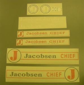 Jacobsen Chief Decal set.
