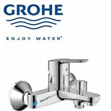 GROHE BAUEDGE BATH SHOWER MIXER TAP SINGLE LEVER WALL MOUNTED MODERN STYLE