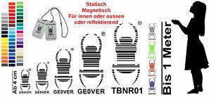 Geocahing Voiture Autocollants Travelbug Coccinelle Tique Traçable Propre Numéro