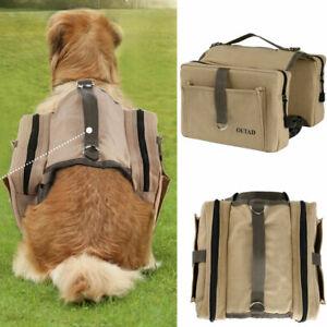 Hunderucksack Satteltasche Packtasche Für Mittlere Und Große Hunde Bei Reisen